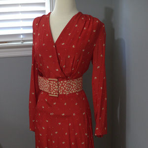 Vintage Three Piece Silk Suit